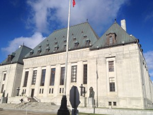 Supreme Court of Canada on the day the Rasouli decision was released (Photo Credit: Omar Ha-Redeye)